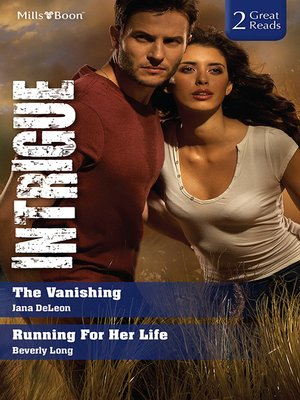 cover image of Intrigue Duo/The Vanishing/Running for Her Life