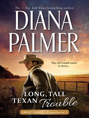 cover image of Long, Tall, Texan Trouble--2 Book Box Set