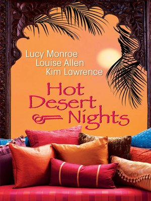 cover image of Hot Desert Nights--3 Book Box Set