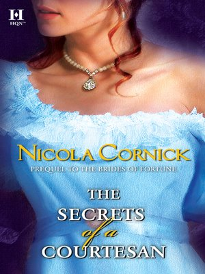 cover image of The Secrets Of A Courtesan