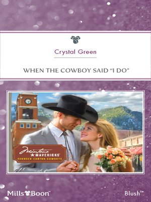 "cover image of When the Cowboy Said ""i Do"""