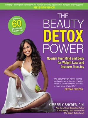 cover image of The Beauty Detox Power