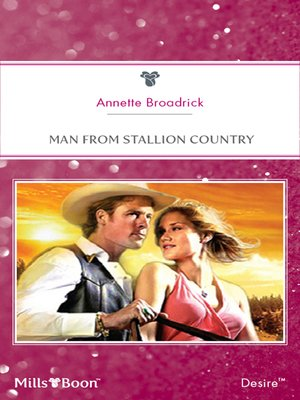 cover image of Man From Stallion Country