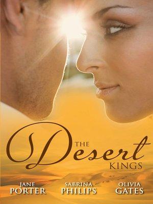cover image of The Desert Kings--3 Book Box Set