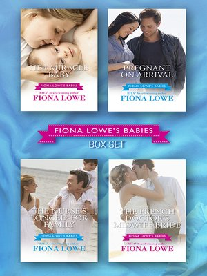 cover image of Fiona Lowe's Babies--4 Book Box Set