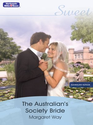cover image of The Australian's Society Bride