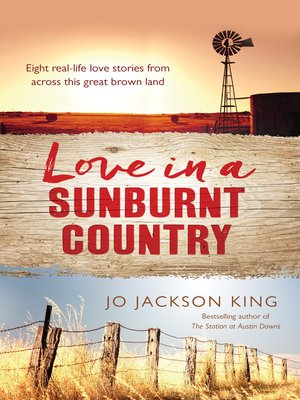 cover image of Love In a Sunburnt Country