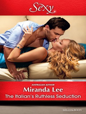 cover image of The Italian's Ruthless Seduction