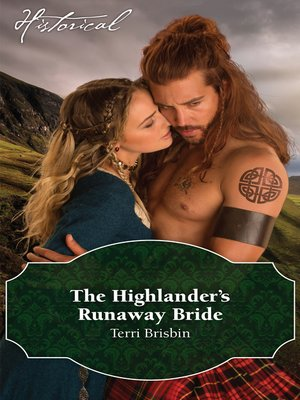 cover image of The Highlander's Runaway Bride