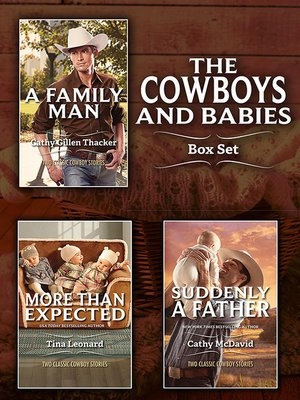 cover image of Cowboys and Babies Bundle--6 Book Box Set