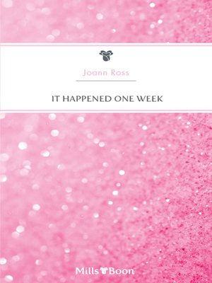 cover image of It Happened One Week