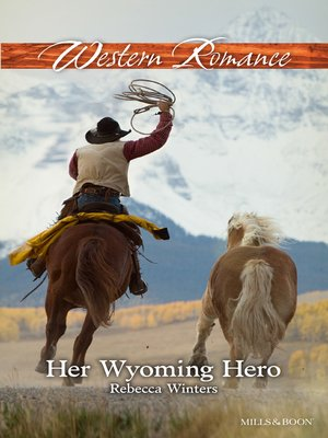 cover image of Her Wyoming Hero
