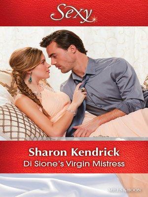 cover image of Di Sione's Virgin Mistress