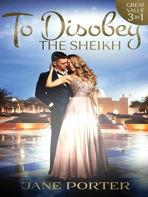 cover image of To Disobey the Sheikh--3 Book Box Set