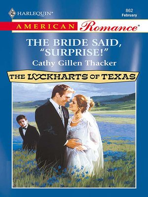 cover image of The Bride Said, 'surprise!'