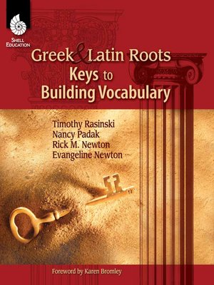 cover image of Greek and Latin Roots: Keys to Building Vocabulary