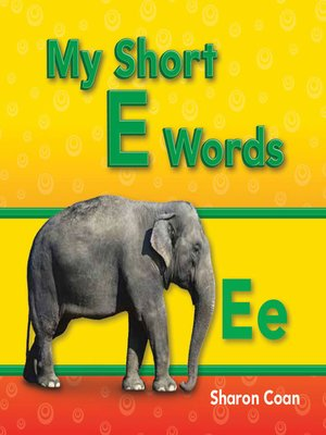 cover image of My Short E Words