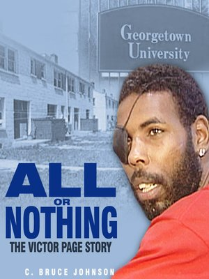 cover image of All or Nothing, The Victor Page Story