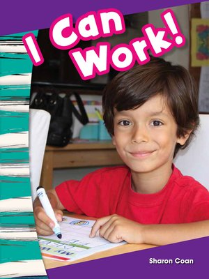 cover image of I Can Work!