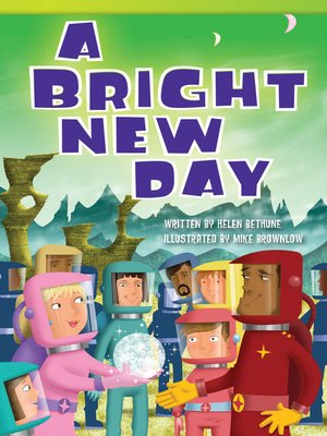cover image of A Bright New Day