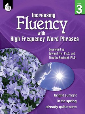 cover image of Increasing Fluency with High Frequency Word Phrases Grade 3