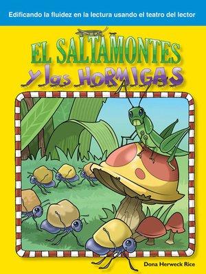 cover image of El saltamontes y las hormigas