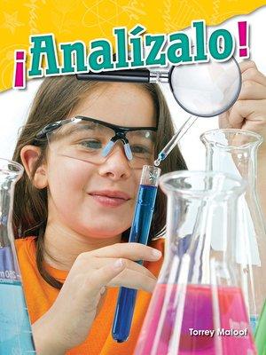 cover image of ¡Analízalo!