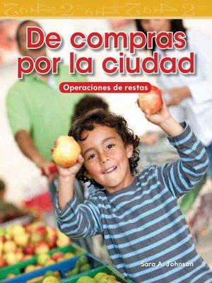 cover image of De compras por la ciudad