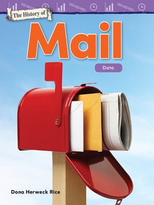 cover image of The History of Mail: Data