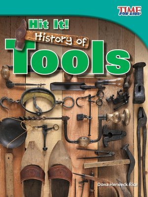 cover image of Hit It! History of Tools