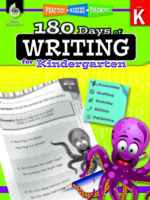 cover image of 180 Days of Writing for Kindergarten: Practice, Assess, Diagnose