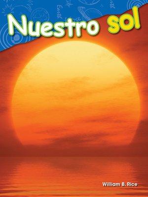 cover image of Nuestro sol