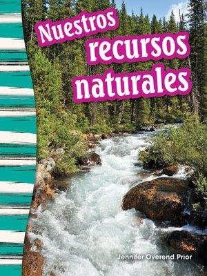 cover image of Nuestros recursos naturales