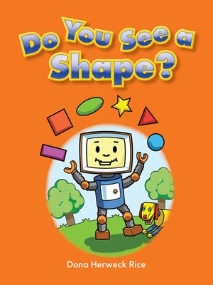 cover image of Do You See a Shape?