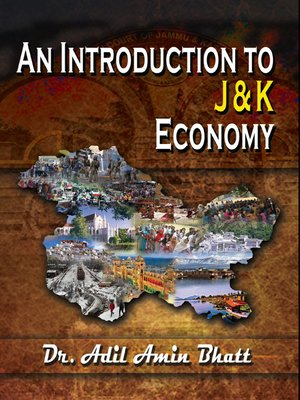 cover image of An Introduction to J & K Economy