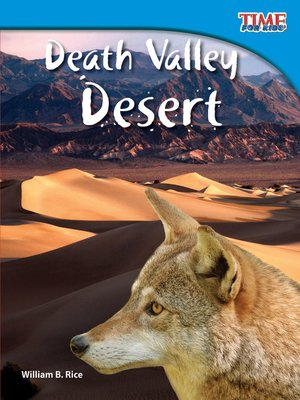cover image of Death Valley Desert