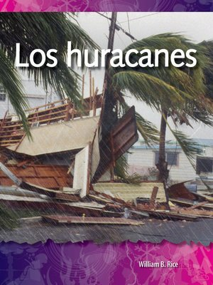 cover image of Los huracanes