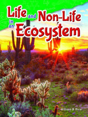 cover image of Life and Non-Life in an Ecosystem