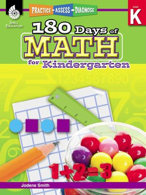 cover image of 180 Days of Math for Kindergarten: Practice, Assess, Diagnose