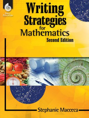 cover image of Writing Strategies for Mathematics