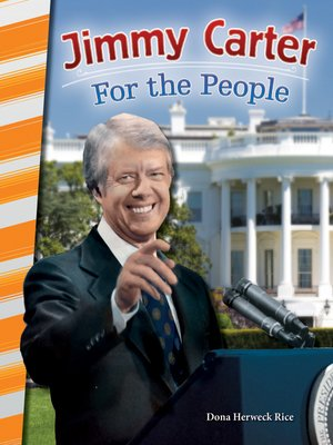 cover image of Jimmy Carter: For the People
