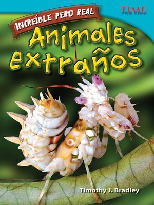 cover image of Increíble pero real: Animales Extraños