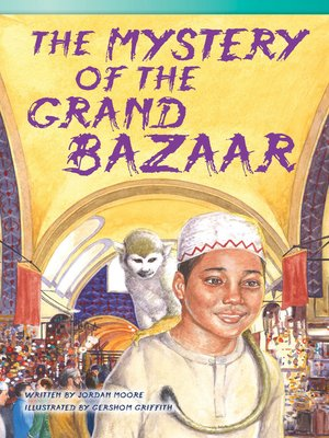 cover image of The Mystery of the Grand Bazaar