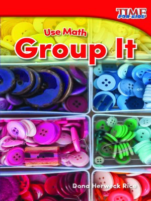 cover image of Use Math: Group It
