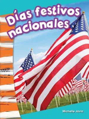 cover image of Días festivos nacionales