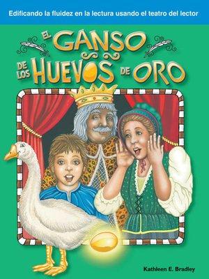 cover image of El ganso de los huevos de oro