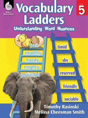 cover image of Vocabulary Ladders: Understanding Word Nuances Level 5