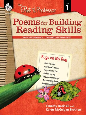 cover image of Poems for Building Reading Skills: The Poet and the Professor Level 1