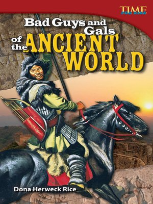 cover image of Bad Guys and Gals of the Ancient World