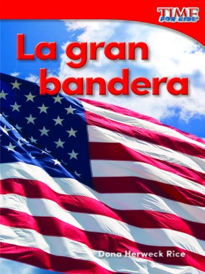 cover image of La gran bandera